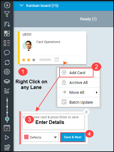 Working with Cards on Kanban Board - SwiftKanban Knowledge Base